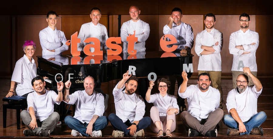 taste-of-roma-chef-auditorium-influencer